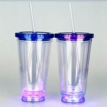 Пластиковый стакан 450 c LED подсветкой Фото 1