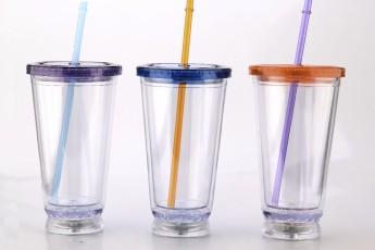 Пластиковый стакан 450 c LED подсветкой Фото 2