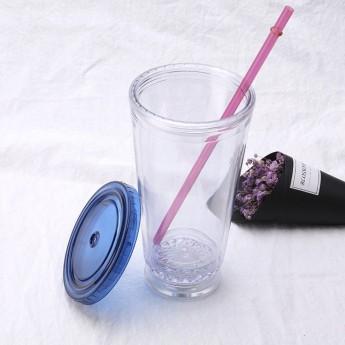 Пластиковый стакан 450 c LED подсветкой Фото 3