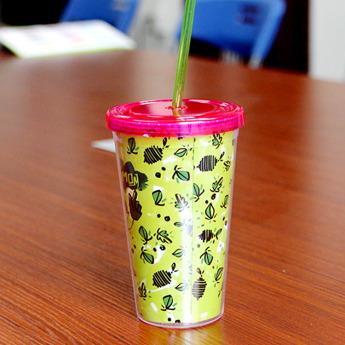 Пластиковый стакан 500 мл с полиграфической вставкой Фото 2