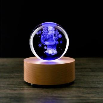 3D лазерная гравировка внутри стекла Bluetooth колонка Фото 1
