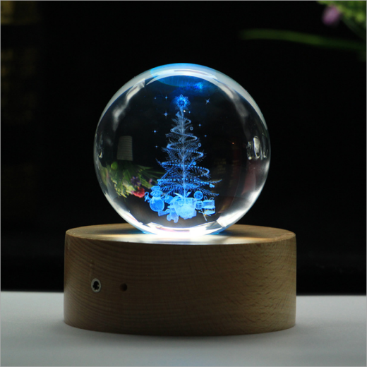 3D лазерная гравировка внутри стекла Bluetooth колонка Фото 20
