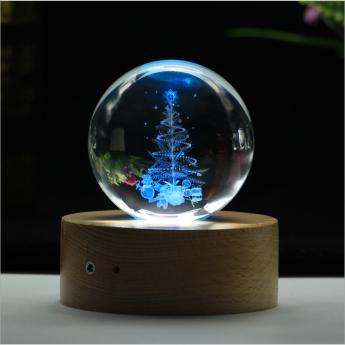 3D лазерная гравировка внутри стекла Bluetooth колонка Фото 7