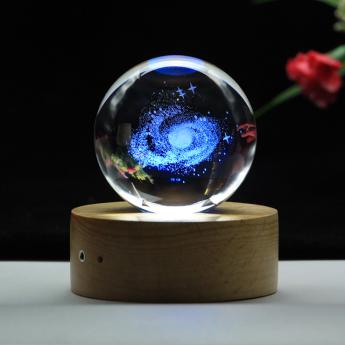 3D лазерная гравировка внутри стекла Bluetooth колонка Фото 8