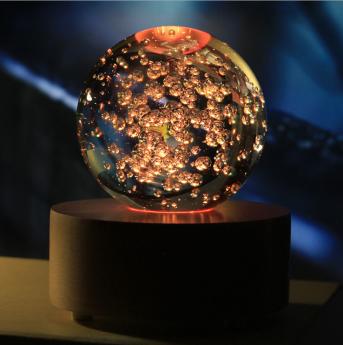 3D лазерная гравировка внутри стекла Bluetooth колонка Фото 9