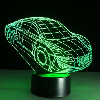 Car-shape-customized-3d-led-night-light