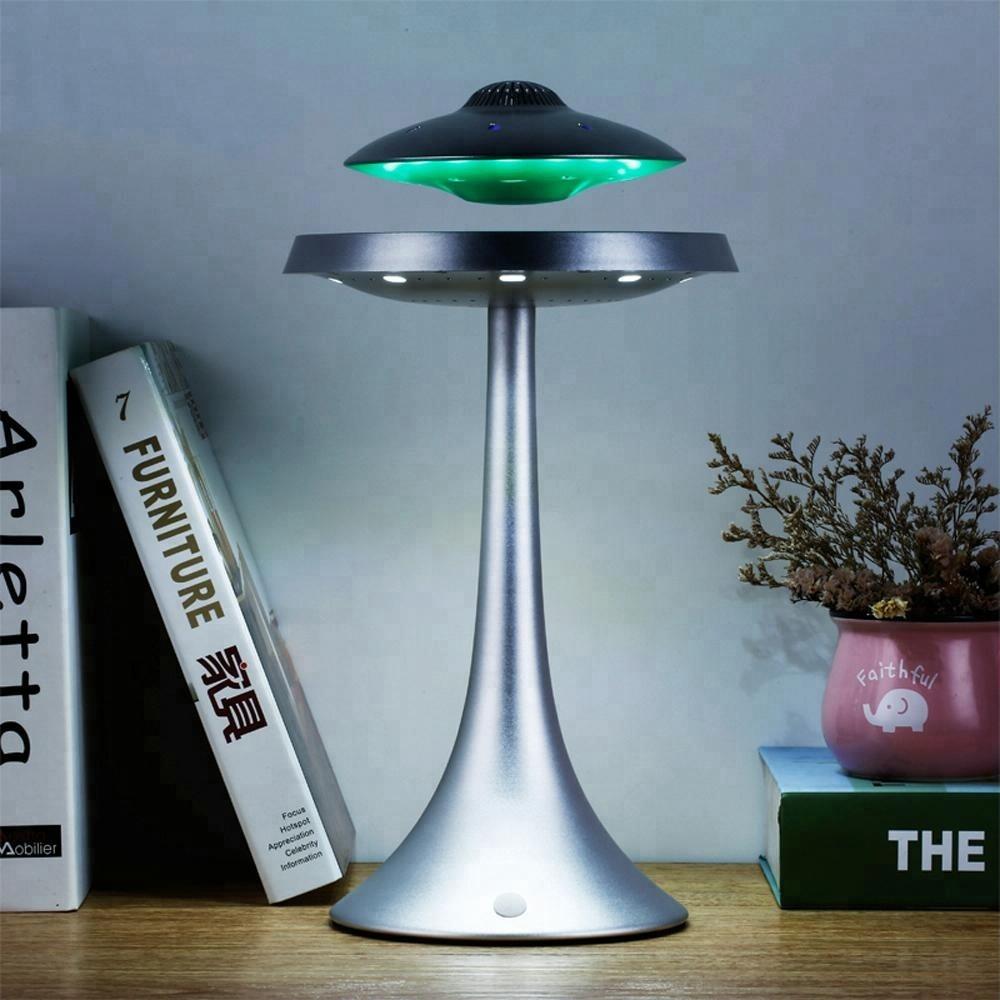 Левитирующая bluetooth колонка светильник