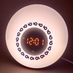 Светильник Настроение часы радио